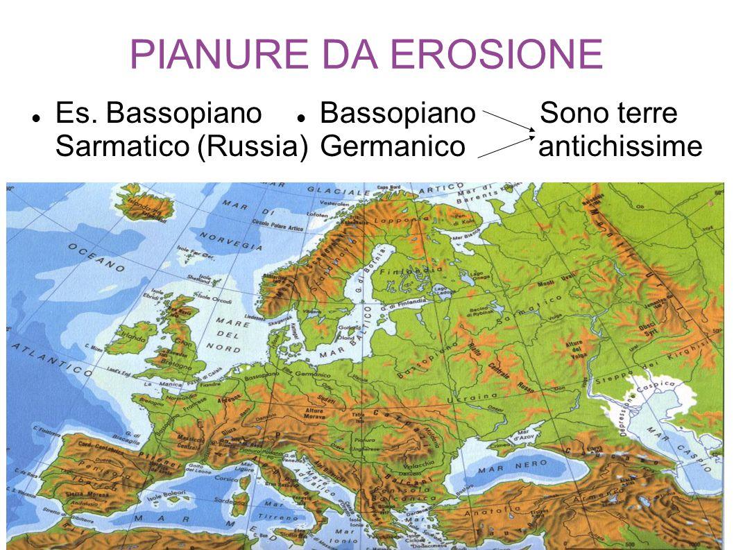 PIANURE DA EROSIONE Es. Bassopiano Sarmatico (Russia)