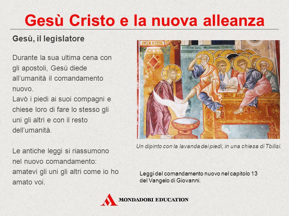 Gesù Cristo e la nuova alleanza