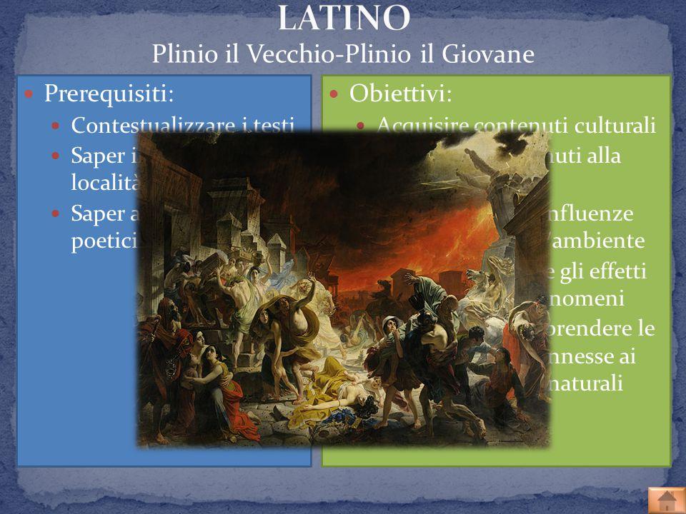 Plinio il Vecchio-Plinio il Giovane