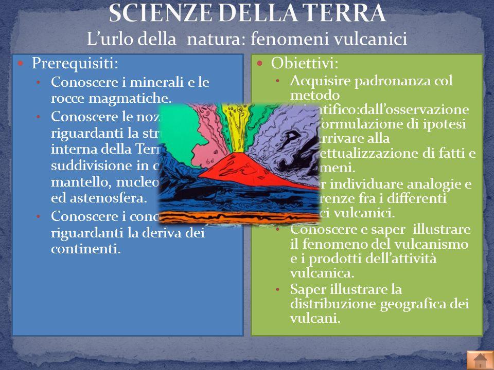 L'urlo della natura: fenomeni vulcanici