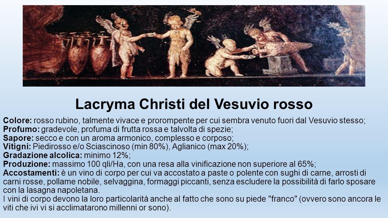 Lacryma Christi del Vesuvio rosso