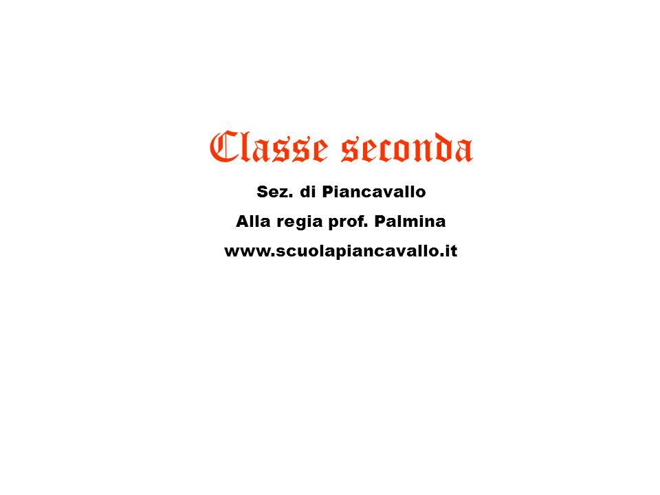 Alla regia prof. Palmina
