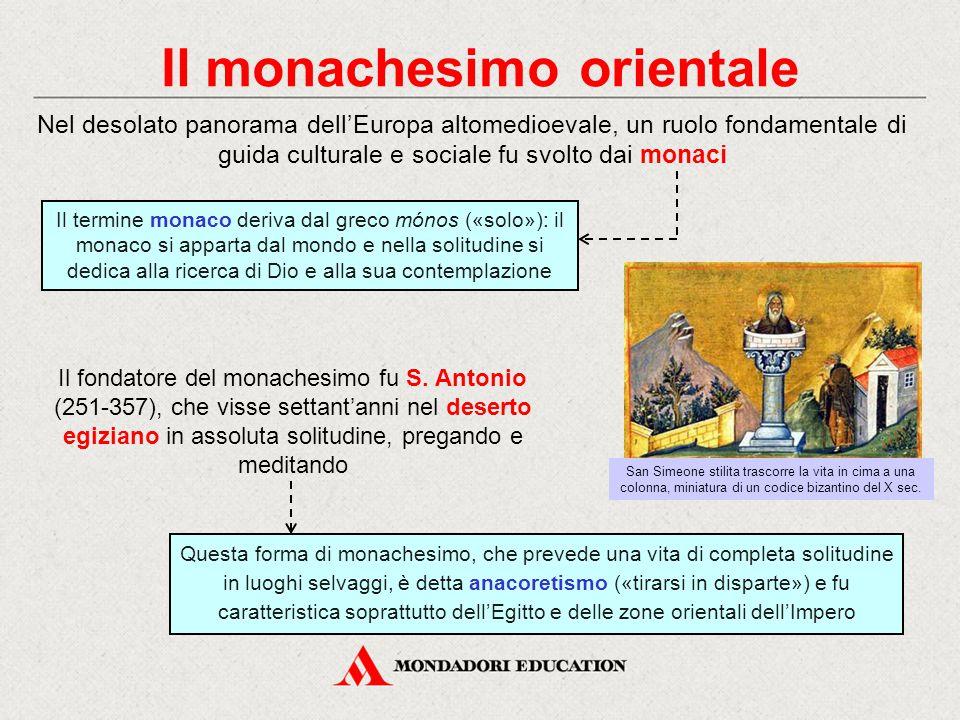 Il monachesimo orientale