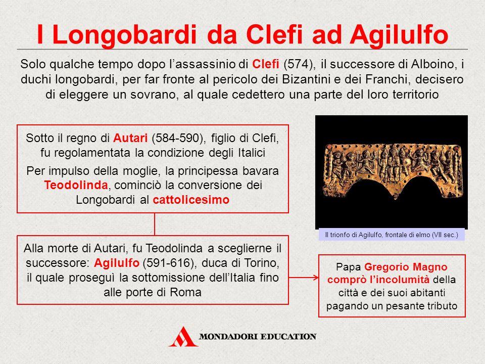 I Longobardi da Clefi ad Agilulfo