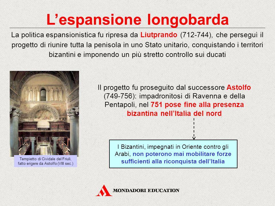 L'espansione longobarda
