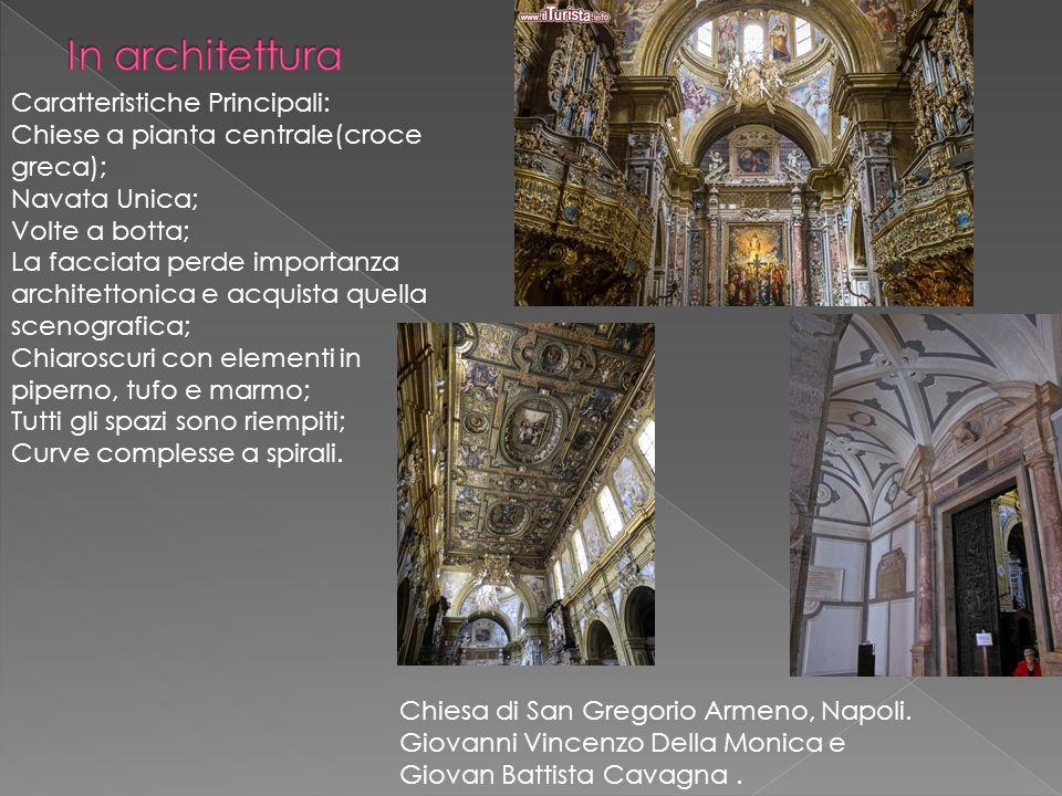 In architettura Caratteristiche Principali: