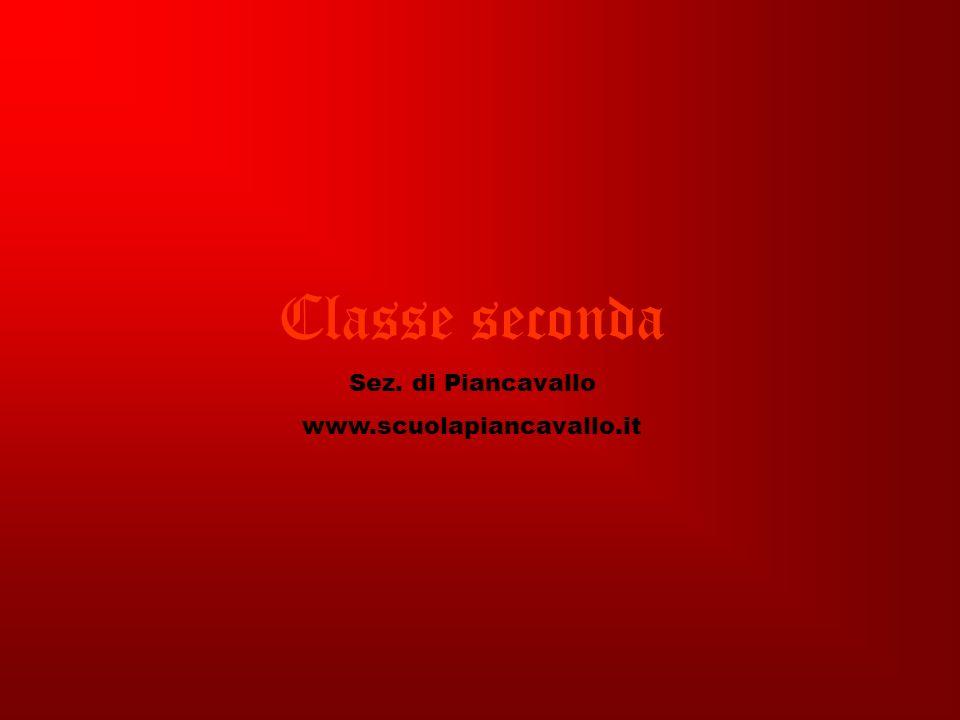 Classe seconda Sez. di Piancavallo www.scuolapiancavallo.it