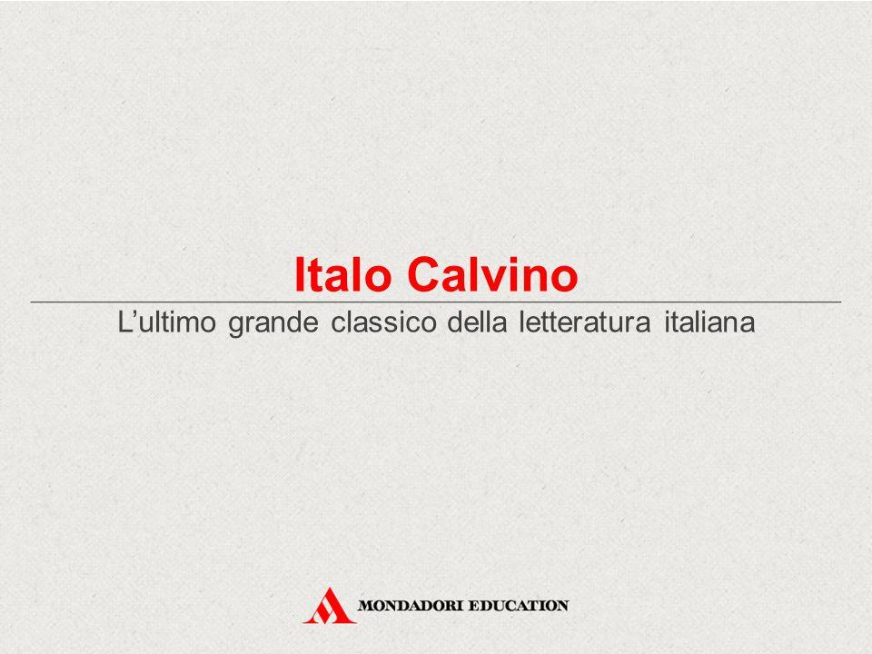 L'ultimo grande classico della letteratura italiana