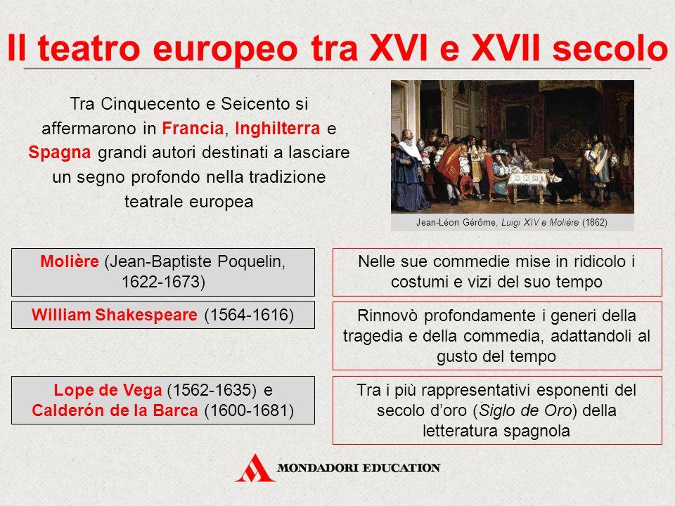 Il teatro europeo tra XVI e XVII secolo