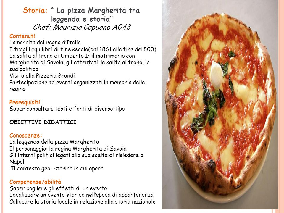 Storia: La pizza Margherita tra leggenda e storia