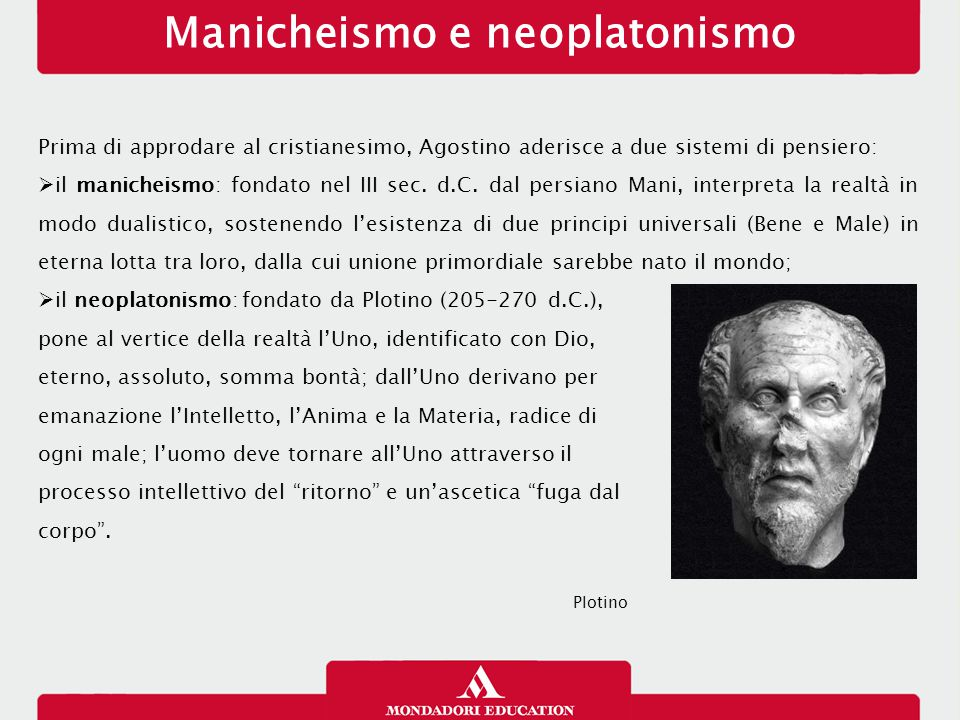 Manicheismo e neoplatonismo