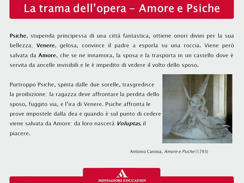 La trama dell'opera - Amore e Psiche