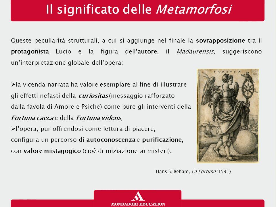 Il significato delle Metamorfosi