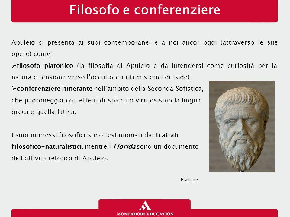 Filosofo e conferenziere