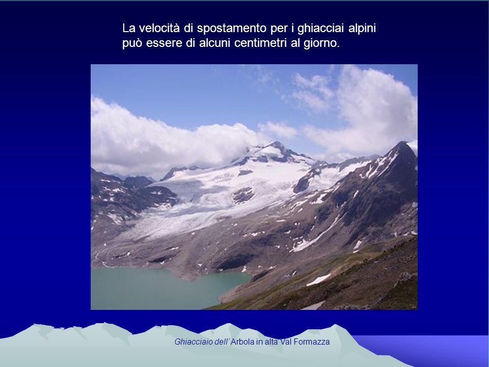 Ghiacciaio dell' Arbola in alta Val Formazza