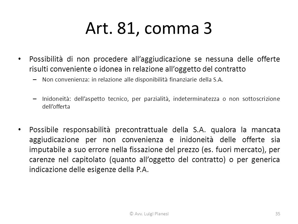 Art. 81, comma 3