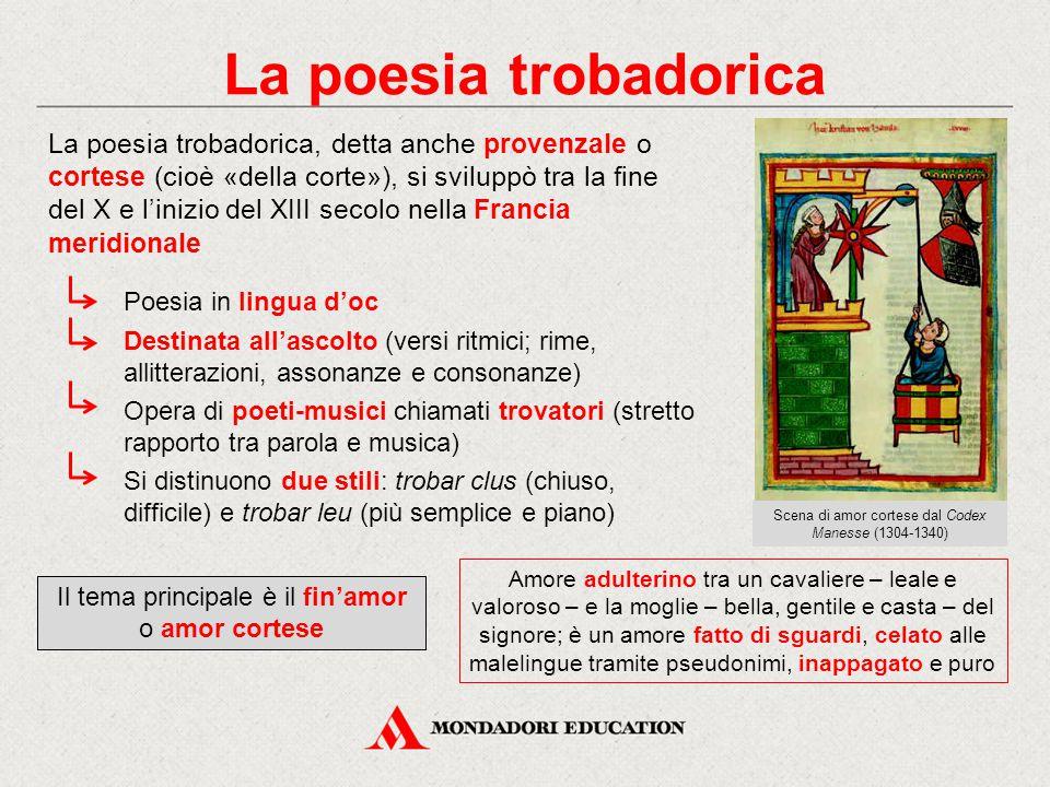 La poesia trobadorica