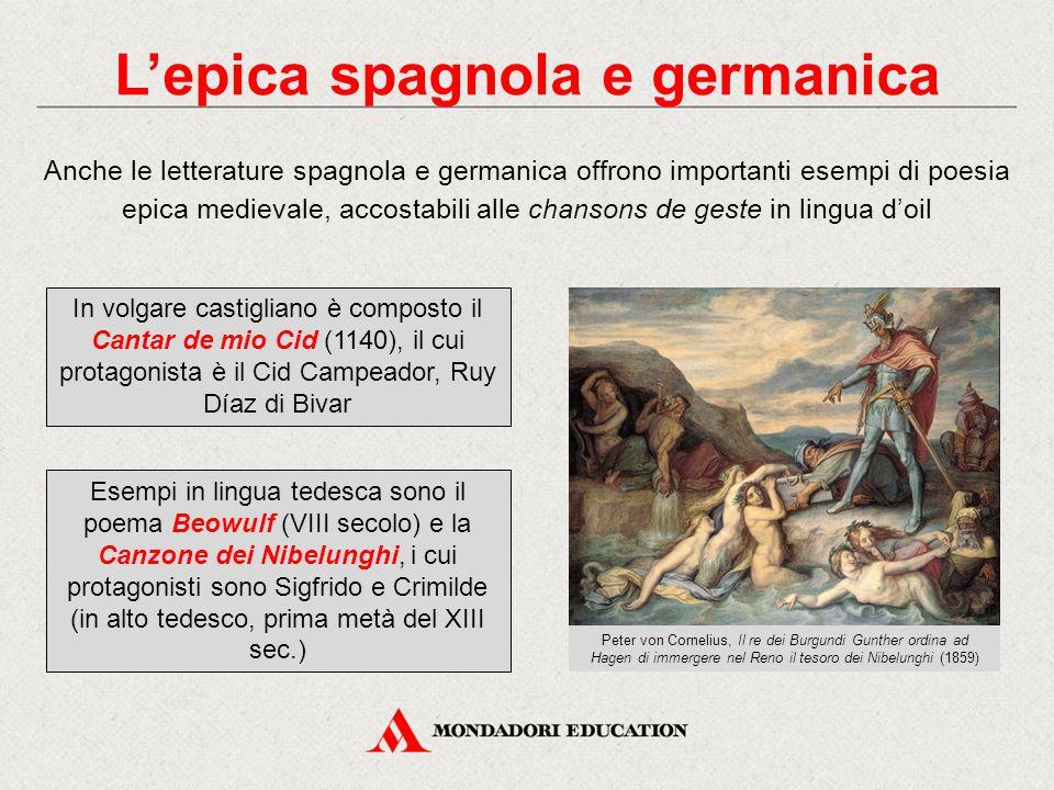 L'epica spagnola e germanica