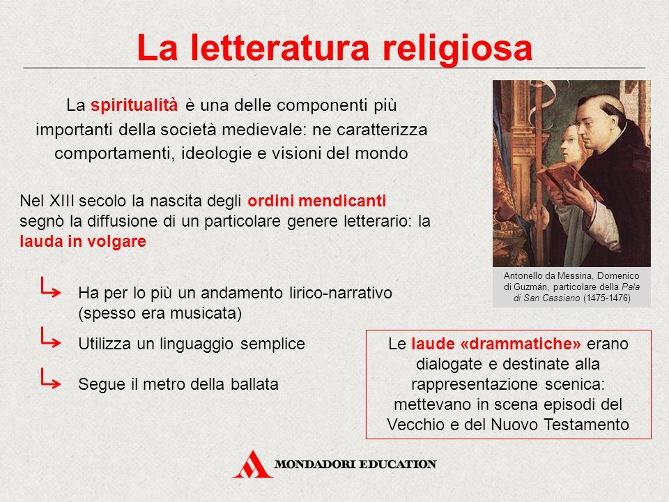 La letteratura religiosa