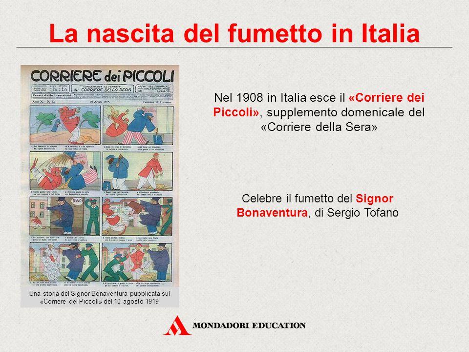La nascita del fumetto in Italia
