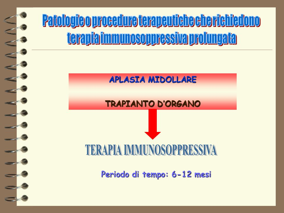 TERAPIA IMMUNOSOPPRESSIVA