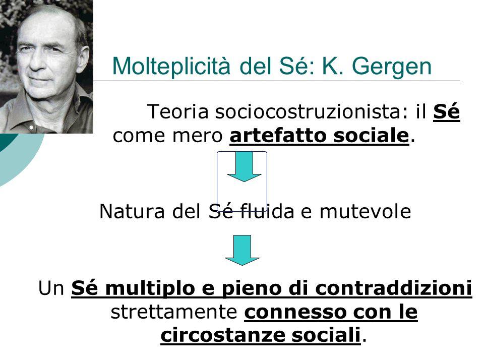 Molteplicità del Sé: K. Gergen