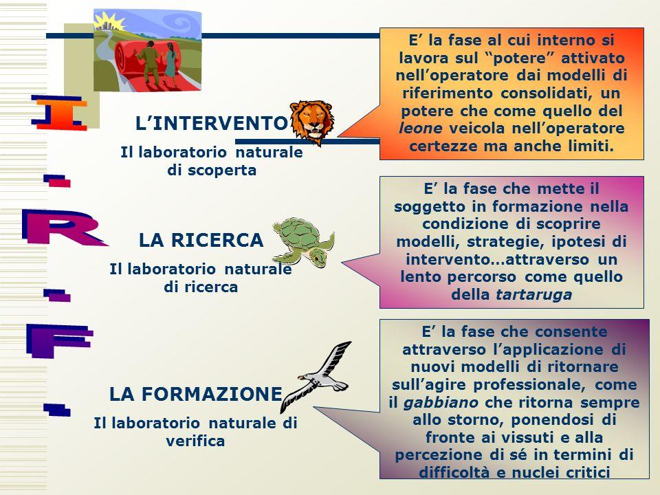 L'INTERVENTO I.R.F. LA RICERCA LA FORMAZIONE