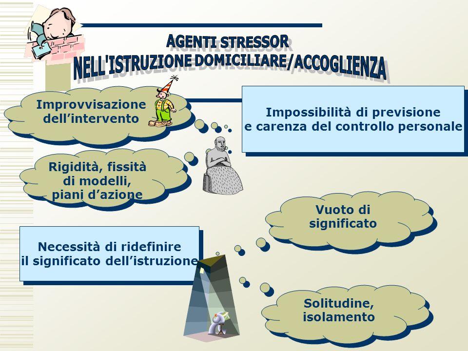 NELL ISTRUZIONE DOMICILIARE/ACCOGLIENZA