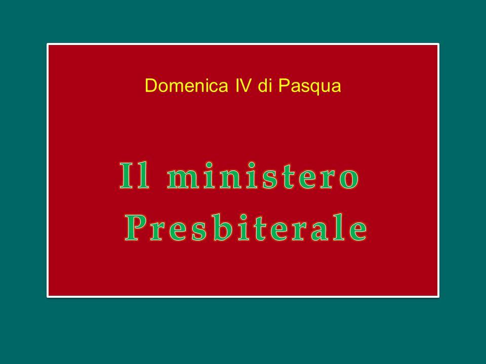Il ministero Presbiterale