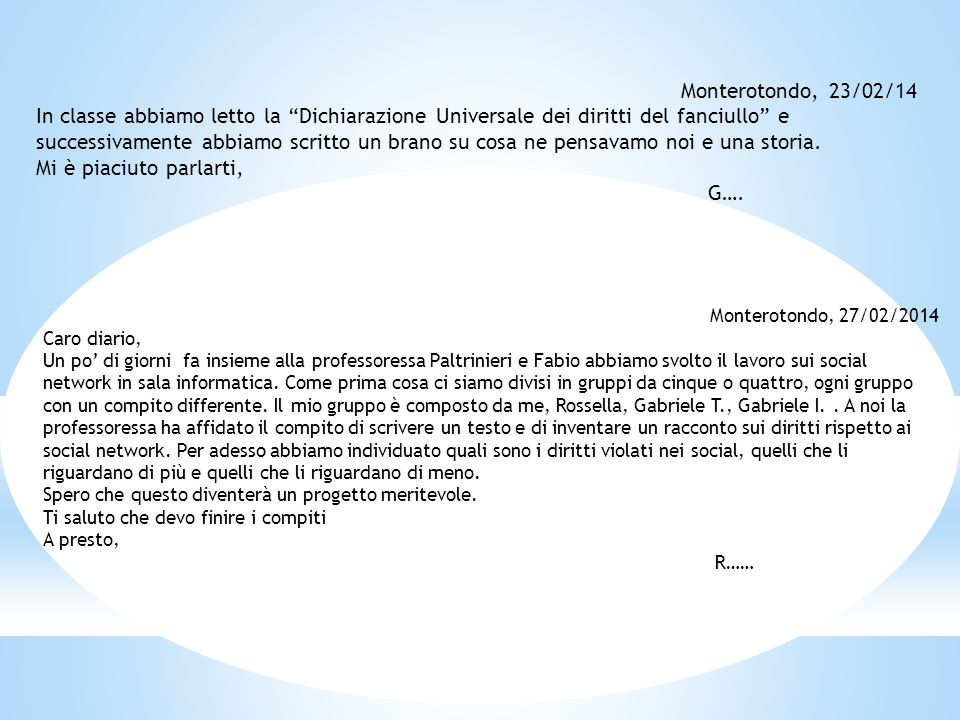 Monterotondo, 23/02/14