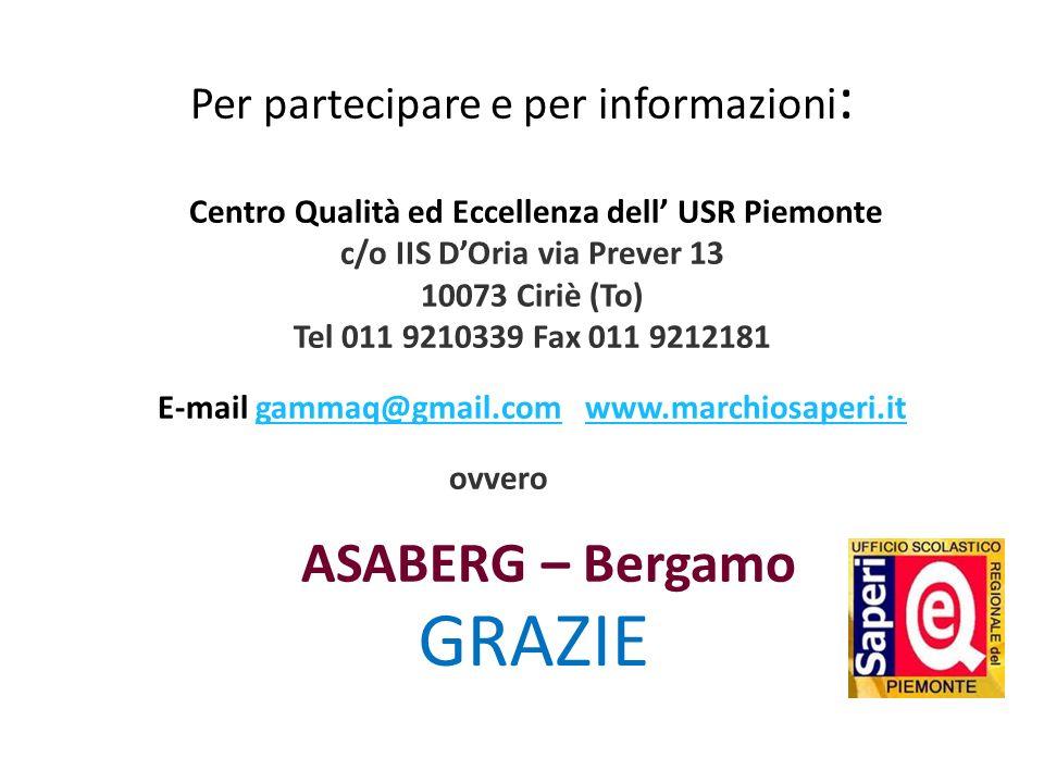 Per partecipare e per informazioni: