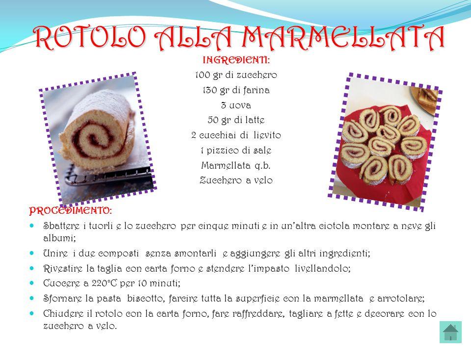 ROTOLO ALLA MARMELLATA