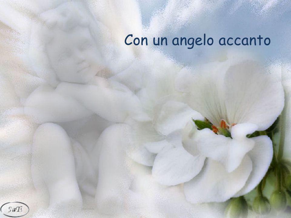Con un angelo accanto Dedicata agli amici del web
