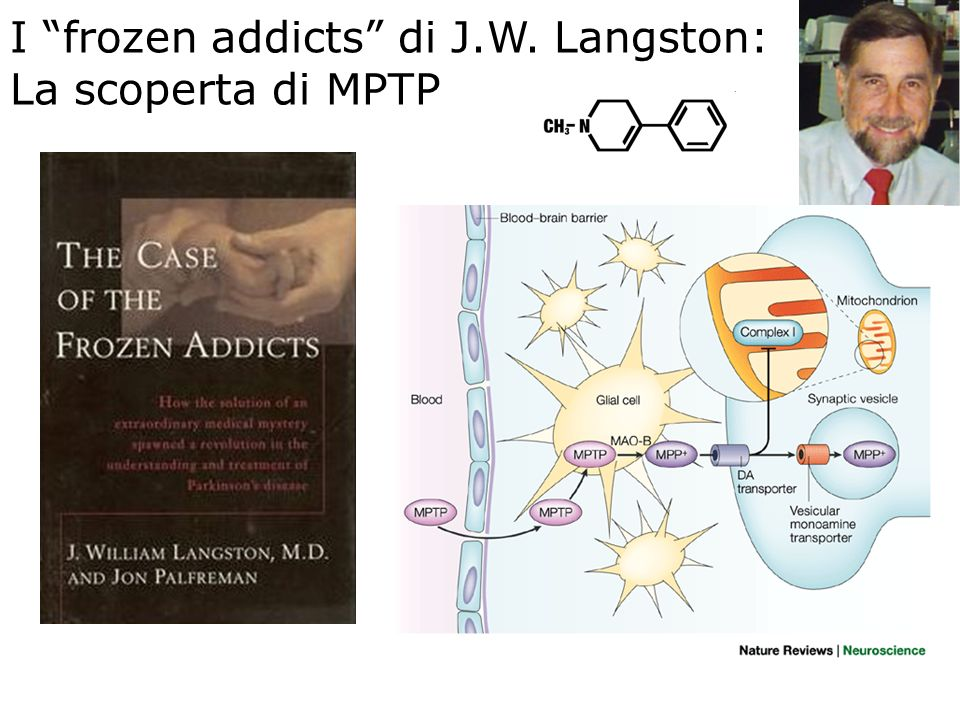 I frozen addicts di J.W. Langston: La scoperta di MPTP