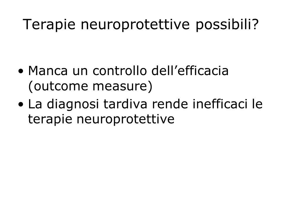Terapie neuroprotettive possibili