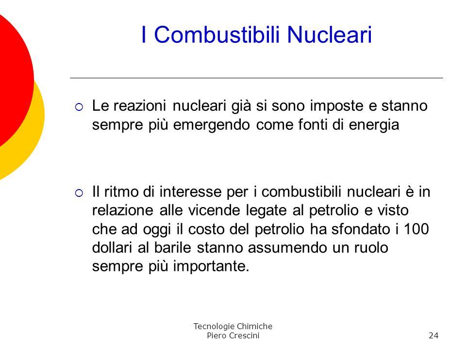 I Combustibili Nucleari