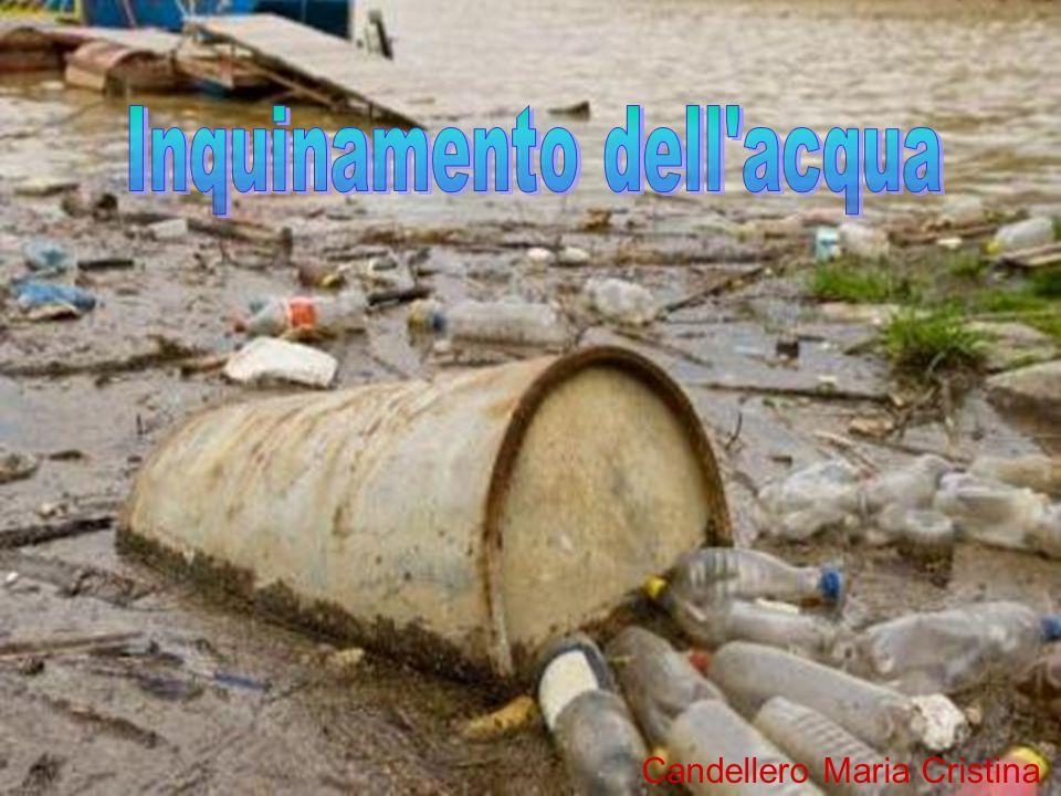 Inquinamento dell acqua