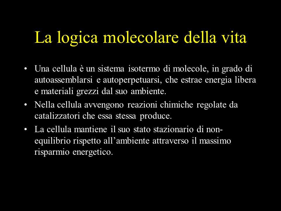 La logica molecolare della vita