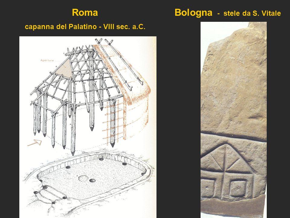 capanna del Palatino - VIII sec. a.C.