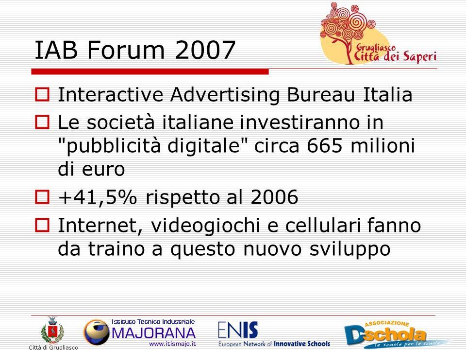 IAB Forum 2007 Interactive Advertising Bureau Italia