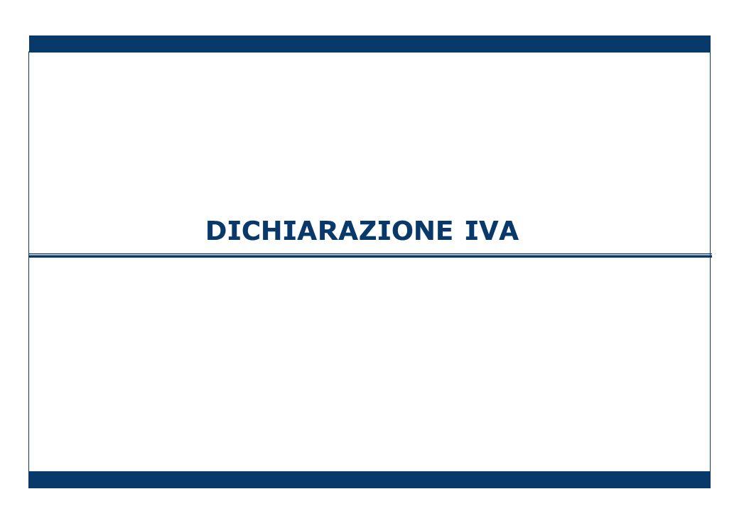 DICHIARAZIONE IVA