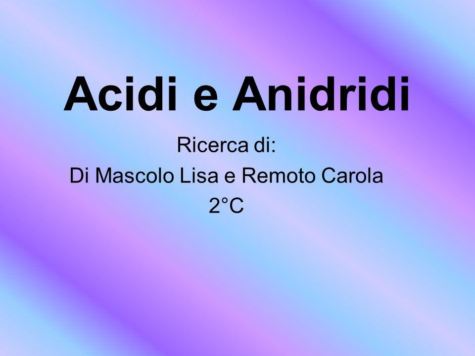 Ricerca di: Di Mascolo Lisa e Remoto Carola 2°C