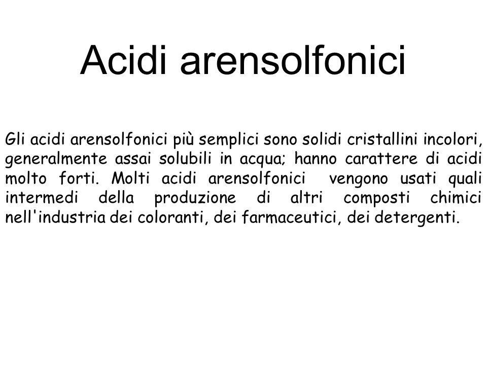Acidi arensolfonici