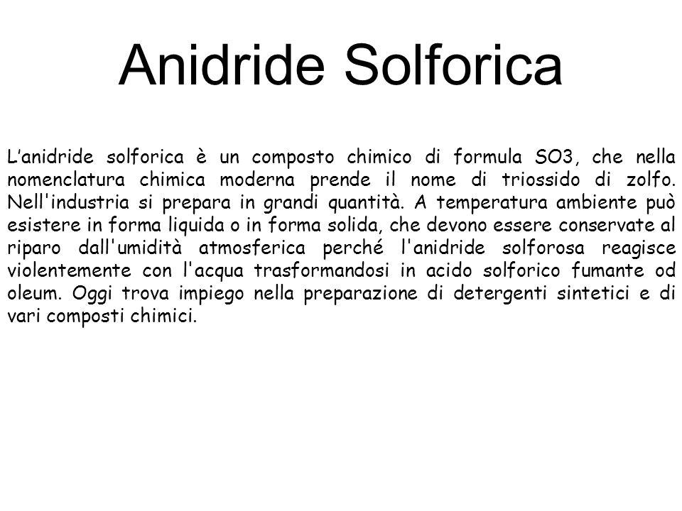 Anidride Solforica