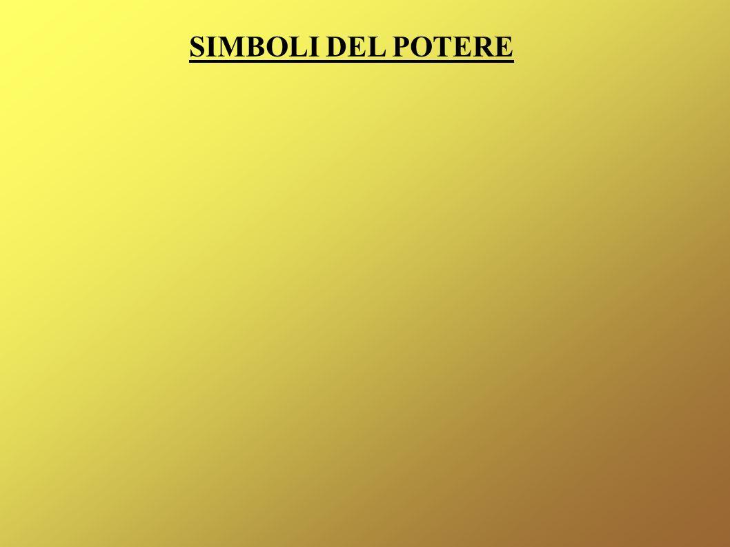 SIMBOLI DEL POTERE