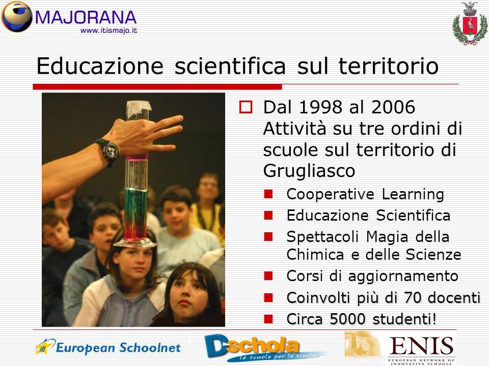 Educazione scientifica sul territorio