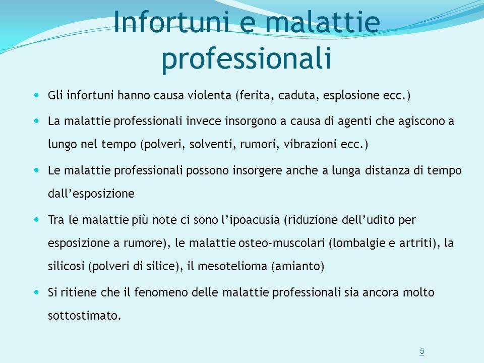Infortuni e malattie professionali
