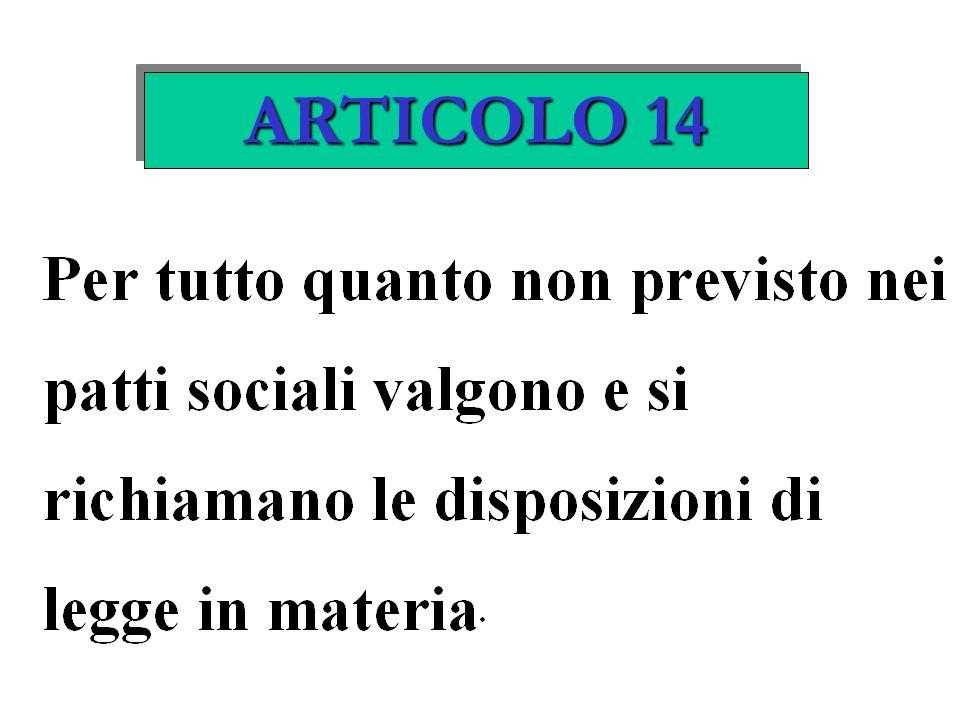 ARTICOLO 14