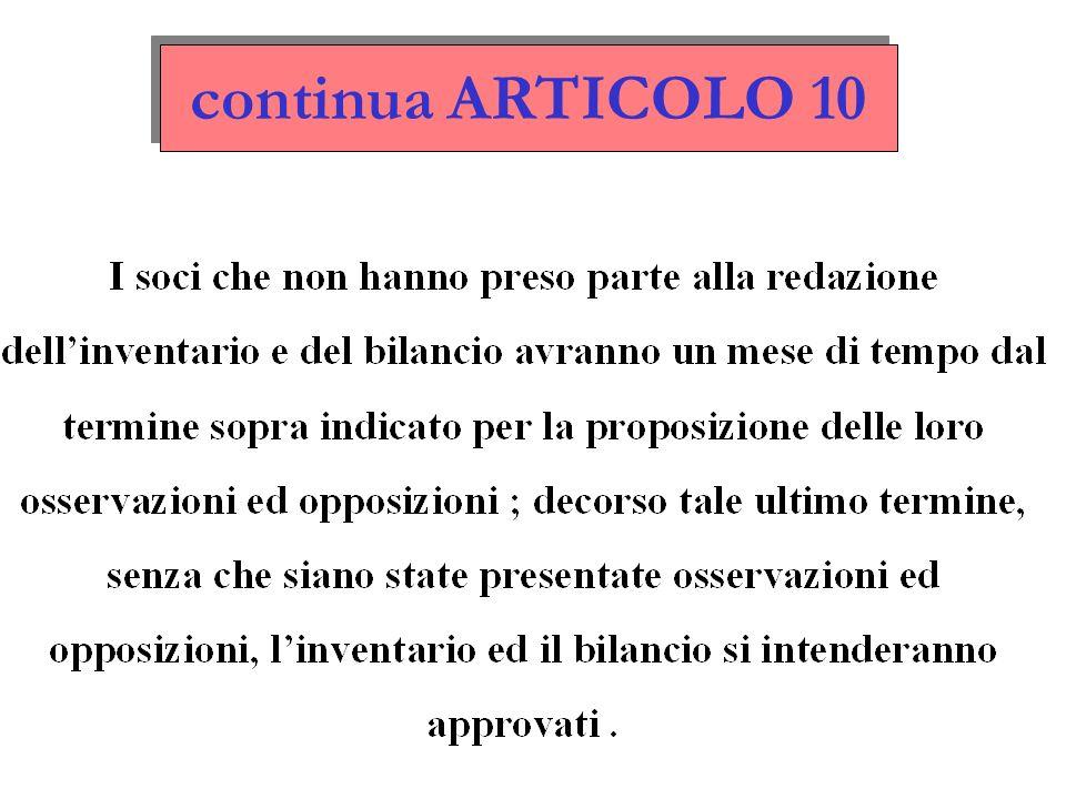 continua ARTICOLO 10