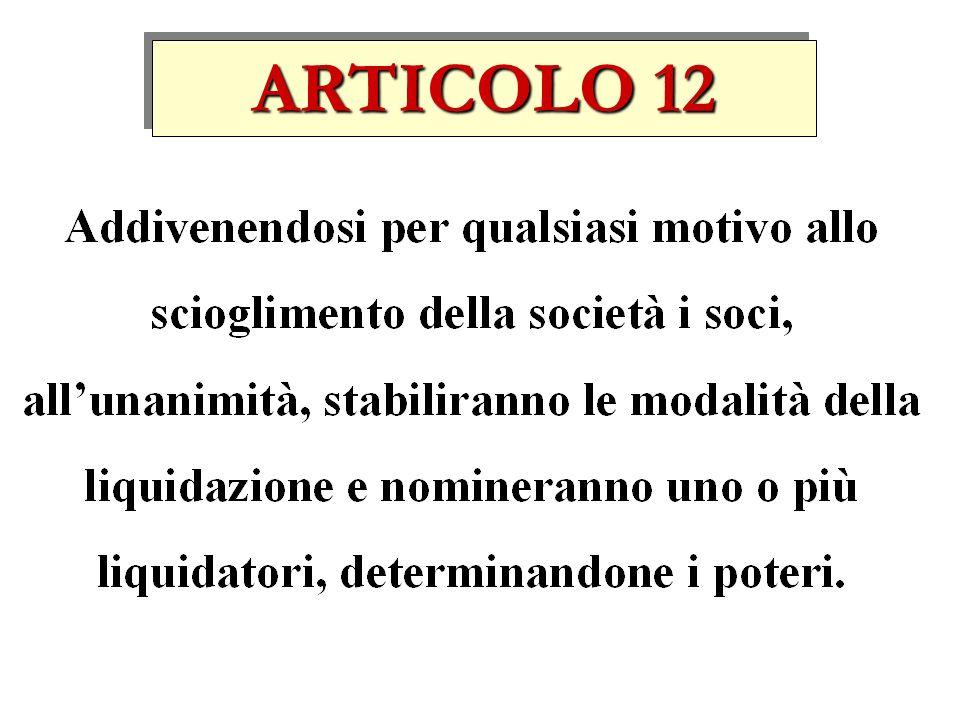 ARTICOLO 12